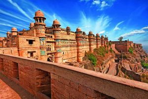 Odyssey into Glorious History - Man Mandir Palace (Gwalior Fort)