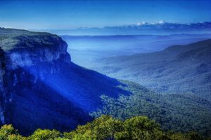 Into The Blue Mountains
