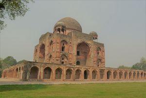Seeking The Poet At Khan-e-Khana's Tomb