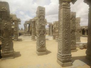 Hanging Pillar of India - Lepakshi - Mystery unfolded