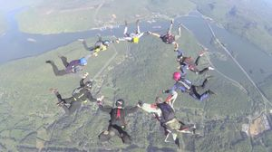 SKYDIVING - MY First Tandem Jump - SKY IS NOT THE LIMIT.
