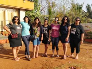 A weekend in Alibaug with my girl gang