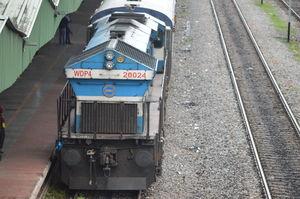 Tracking to Dudhsagar#trainjourney