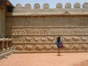 Whispering Stones and Eavesdropping Nature; Hampi!