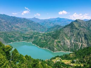The most breathtaking sight in all of Chamba has to be Chamera Dam Lake.
