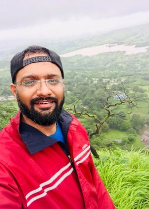 Best views come only after the hardest climbs #SelfieWithAView #TripotoCommunity
