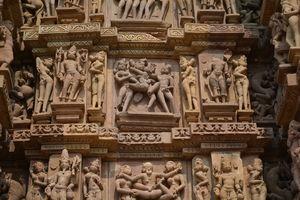 Temple of Love - Khajuraho: The world heritage site.
