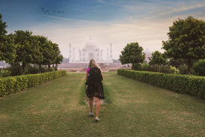 TAJ MAHAL - The wonder that you have to visit to believe in.