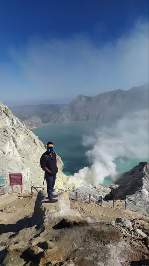 Early morning hike to Mt Ijen, east Java, Indonesia