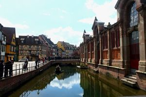 Colmar, a hidden surreal behind the old town