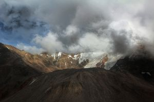 The place where land meets the sky...Leh -Ladakh