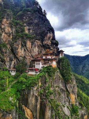 """Bhutan - The Land of Thunder Dragons "" , Tiger's Nest Monastry,Paro"
