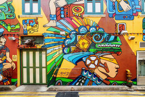 Haji Lane 1/undefined by Tripoto