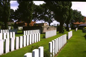 Flanders Fields and Somme American WW I Tour