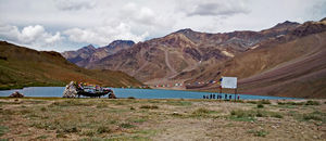 Trekking to Chandratal from Batal (Spiti Valley)
