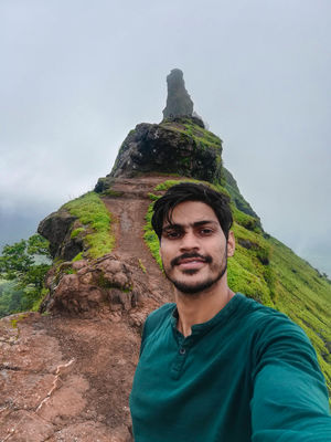 Irshalgad fort #SelfieWithAView #TripotoCommunity