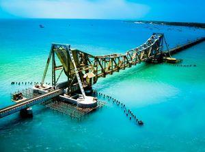 Pamban Bridge, Tamilnadu