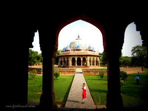 Humayun's Tomb - A Wonderful Piece of Persian Architecture