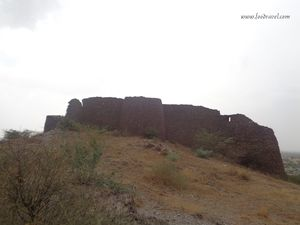 The Relics of Past - Mandhan Fort, Mandhan, Alwar