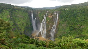 Jog Falls - Discover the might of second highest plunge waterfall in India