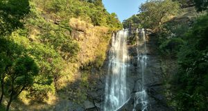 Witness the glory of this waterfall in Chikmagalur