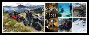 12 Months 12 Places 12 Adventure Sports in India