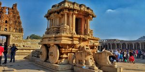 Backpacking across the land of boulders and ruins: Hampi - A journey back in time