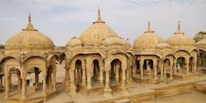 Bada Bagh - The Golden Cenotaphs