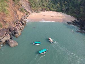 SECRET BEACH IN SOUTH GOA-BUTTERFLY ISLAND- INDIA'S OWN MAYA BAY#offbeatgoa
