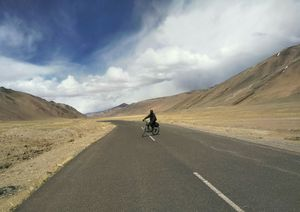 Ladakh And Its Challenging Landscape Motivated Me To Go On A Solo Cycling Trip .