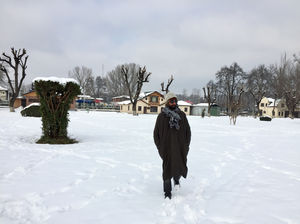 Solo Cycling To Kashmir In Winter.