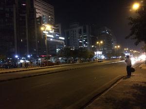 Undefined Light of New Delhi