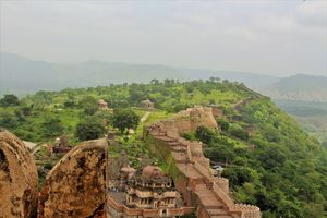 Trekking, camping, wildlife and waterfalls near second largest wall of world in Kumbhalgarh