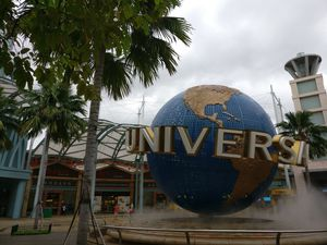 Dive into childhood for a day at Universal Studio, Singapore