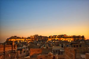 A Royal anecdote from golden city of India : Jaisalmer