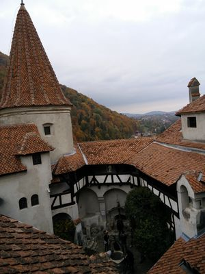 Dracula Castle in Bran, Romania