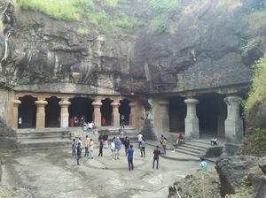 The ages old Elephanta caves !!