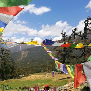 A walk in the Himalyan Paradise - Chopta