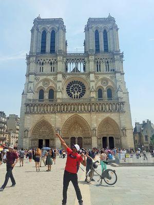 @jetairways @tripotocommunity #BestTravelPictures #RickyDiaries #KapilRicky #France