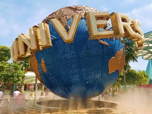 Fun Day in Singapore @ Universal Studios Singapore.