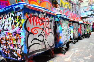 Photo Walk : Melbourne Graffiti Streets - ACDC Lane and Hosier Lane