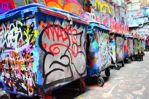 Photo Walk : Melbourne Graffiti Streets - ACDC Lane and Hosier Lane