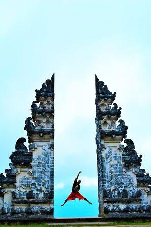 Exploring Bali on Scooter | Part 4 | Pura Lempuyang Luhur & Blue Lagoon Beach