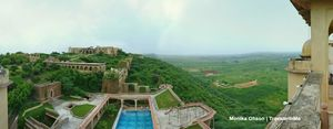 Neemrana's Tijara Fort Palace, where art meets history!