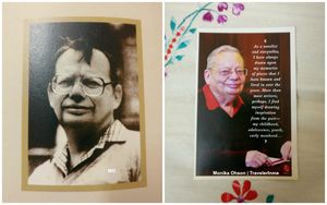 Meeting Ruskin Bond in Mussoorie