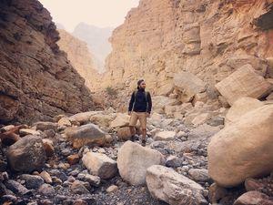 Hiking Wadi Shah - Ras al khaimah, UAE