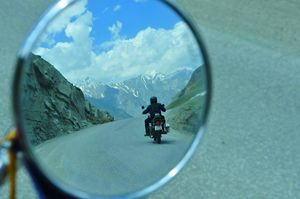 Objects in the mirror are scenic than they appear... #BestTravelPictures @triptocommunity