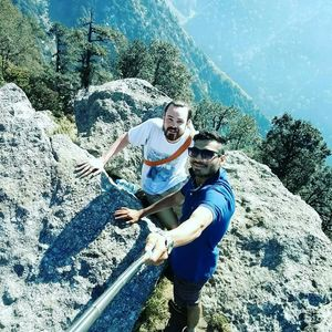 Triund Trail ! An encounter with an Aussie..