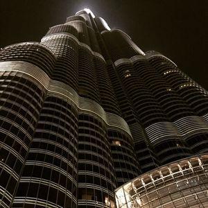 A night spent dining in heaven aka The Burj Khalifa