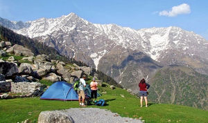 Scaling The Rocks- Triund Trek